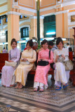 Four Miss Saigon in Main Post Office, Saigon