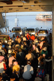 Passengers in ferry