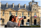 Me Shooting the Louvre