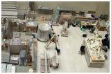 Louvre storage room