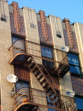 see the fire escapes  COPYRIGHT PAT MORGAN 2007