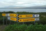 Signpost for Geysir