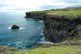 Basalt lava cliffs at Arnastapi, Snæfellsnes Peninsula
