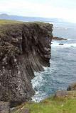 Basalt lava cliffs at Arnastapi