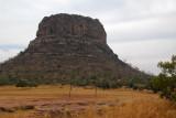 Mesa in western Mali between Diamou and Sélinkégni