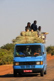 An African bus is never full....