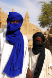 Tuaregs with the Dyingerey Ber Mosque