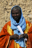Teacher at Timbuktu's Koranic school