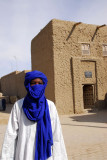 Tuareg with the Gordon Laing House