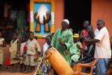 African drummers, Abomey, Benin