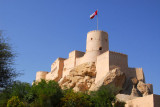 Nakhl Fort is about 100 km from Muscat