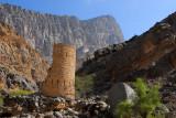 Ruins of a watch tower, Al Fara