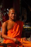 Monk at Ban Xang Hai