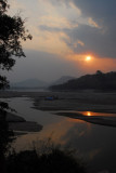 Mekong Sunset, Laos