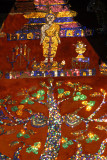 Mosaic Tree of Life commemorating 2500 years of Buddha's nirvana