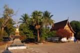 Wat Xieng Thong, Golden Stupa and Royal Funary Carriage House