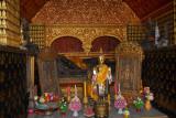 Reclining Buddha Sanctuary (Red Chapel), Wat Xieng Thong