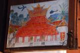 Students drawing of Wat Mai Suwannaphumaham