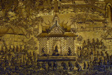 Wat Mai Suwannaphumaham, detail of the Tale of Vessantara