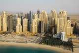 JBR and the  and the Sheraton Jumeirah Beach Resort