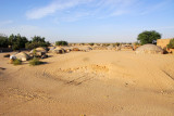 The Sahara comes right up to the edge of Timbuktu