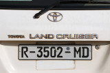 ONG Chariot - the white Toyoto Land Cruiser, Mali