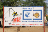Rotary International polio vaccination campaigne, Mali