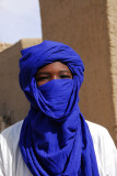 In contrast to the rest of the Islamic world, Tuareg men are the ones who wear veils