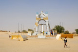 In the northwest corner of Timbuktu, on the edge of the desert, a monument to the end of the Tuareg Rebellion