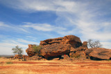 Picnic stop, Dogon Country