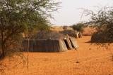 African huts, Eastern Mali