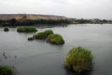 View of the Senegal River from the Diamou Bridge, Mali