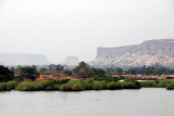 View from the Senegal River bridge at Diamou