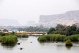 Senegal River by Diamou, Mali