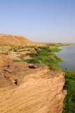 Cliff overlooking the Niger at Labbézanga