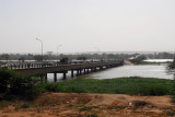 Kennedy Bridge over the Niger River, Niamey, Niger