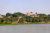 Grand Hôtel on the banks of the Niger River, Niamey
