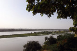 View of the Niger River from the Hôtel Le Sahel patio, Niamey