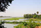 View of the Niger River from the Hotel Gaweye, Niamey