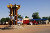 Major interchange in Dosso, where the roads to Niamey, Adadez and Benin meet