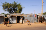 Dosso, Niger - supposedly the bottles are full of black market petrol from Nigeria