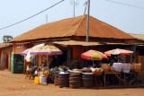 Downtown Abomey, Benin (Rue du Palais Royal)