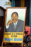 Président de la République du Bénin Vayi Boni