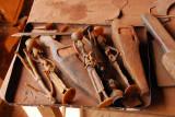 Molds for lost-wax bronze casting (cire perdue), Centre des Artisans
