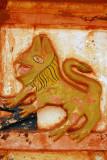 Lion - symbol of King Glele of Dahomey (1858-1889)