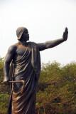 King Béhanzin of Dahomey monument, Abomey