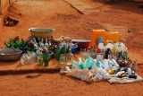 Old bottles for sale, Abomey, Benin