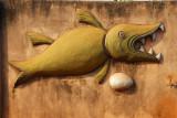 Shark and Egg, symbols of King Behanzin