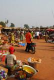 Market of Abomey, Benin
