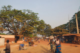 Road from the market to downtown Abomey